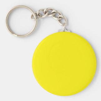 El color amarillo brillante crea solamente product llaveros