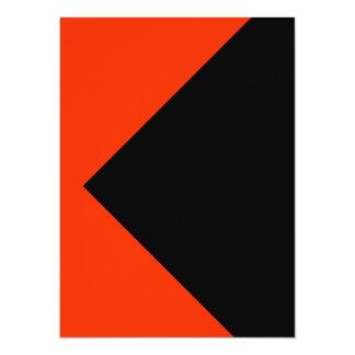 El color anaranjado equipa solamente tarjetas de invitación 13,9 x 19,0 cm
