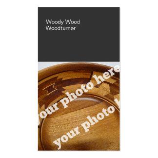 El color bloquea la foto de encargo BusinessCard d Tarjeta De Visita