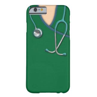 El color de encargo médico friega funda para iPhone 6 barely there
