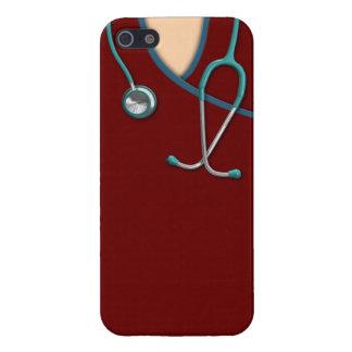 El color de encargo médico friega iPhone 5 carcasas