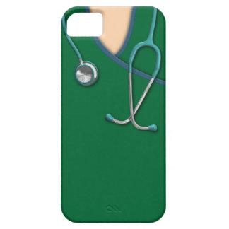 El color de encargo médico friega iPhone 5 fundas