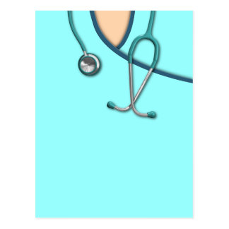 El color de encargo médico friega postal