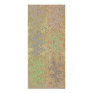 """El color de la corteza cruda del roble y de tierra folleto publicitario 4"""" x 9"""""""