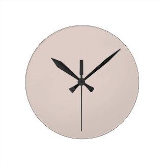 El color de la piedra arenisca crea solamente prod reloj redondo mediano