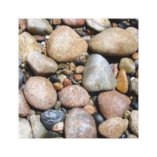 El color de la piedra impresion en lona