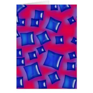 El color de la U-selección/el zafiro cristalino Tarjeta Pequeña