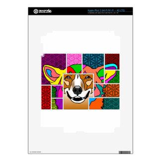 El color de los Corgis mi mundo iPad 3 Skins
