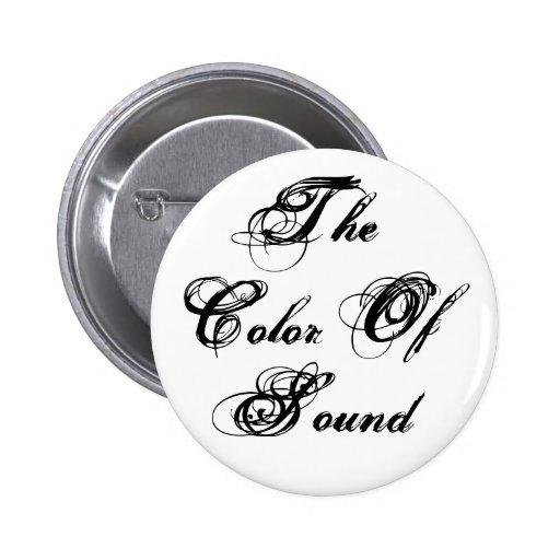 El color de los pernos de los sonidos pin redondo 5 cm