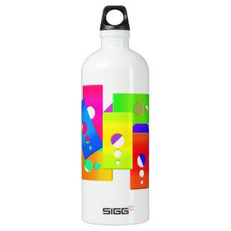 El color de Raimbow forma la botella de la