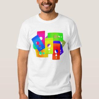 El color de Raimbow forma la camiseta Playeras