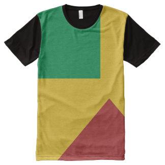 El color de Rasta forma la camisa