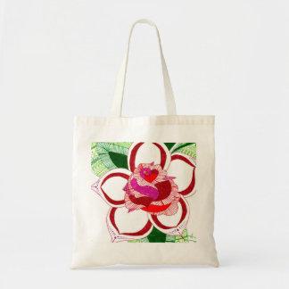 El color de rosa bolsa tela barata