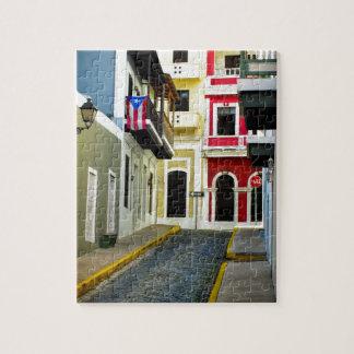 el color de San Juan viejo Puerto Rico Puzzles
