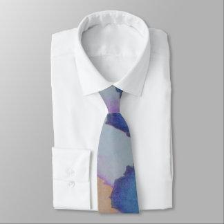 el color dentado bloquea diseño abstracto original corbata personalizada