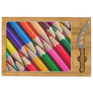 el color dibujó a lápiz textura del fondo de los