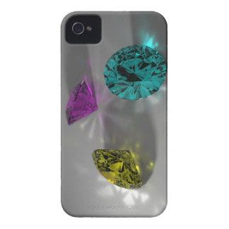El color empiedra la caja de Blackberry Carcasa Para iPhone 4 De Case-Mate