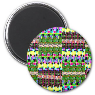 El color INTENSO modela el luv de los REGALOS del Imán Redondo 5 Cm