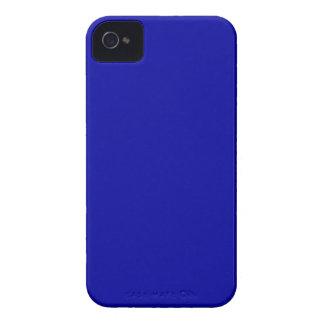 El color oscuro de los azules marinos crea solamen Case-Mate iPhone 4 carcasa
