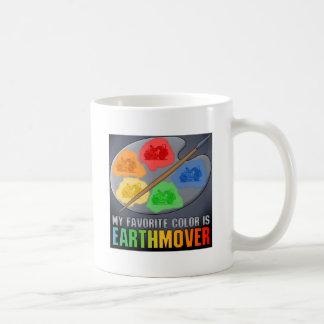 El color preferido es taza de café del raspador de