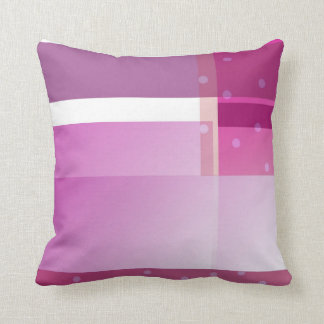 El color púrpura bloquea lunares cojín