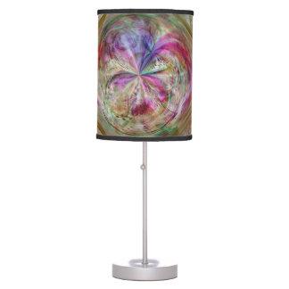 El color que fluye, resume las ilustraciones lámpara de escritorio