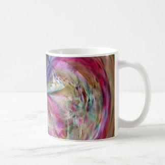 El color que fluye, resume las ilustraciones taza de café