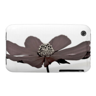 El color vertió de la flor iPhone 3 Case-Mate fundas