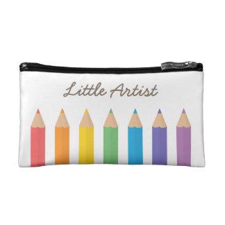 El colorante colorido del arco iris dibujó a lápiz