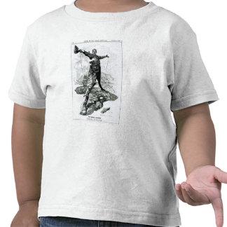 El coloso de Rodas del sacador Camiseta