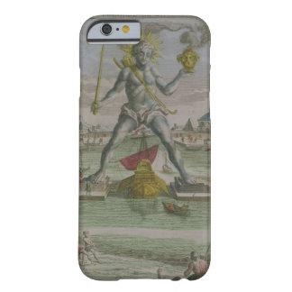 El coloso de Rodas, detalle del strad de la Funda De iPhone 6 Barely There