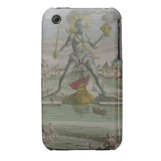 El coloso de Rodas, detalle del strad de la iPhone 3 Case-Mate Protectores
