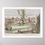 El coloso de Rodas, segunda maravilla del mundo Posters