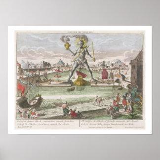 El coloso de Rodas, segunda maravilla del mundo Póster