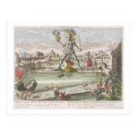 El coloso de Rodas, segunda maravilla del mundo Postal