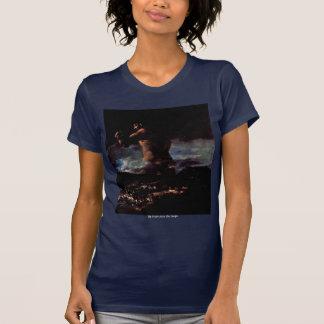 """El coloso (o pánico """")"""" por Francisco De Goya Camisetas"""