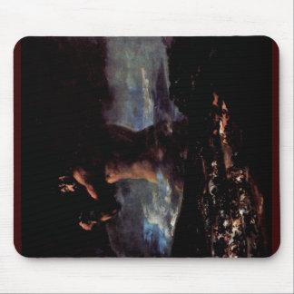 """El coloso (o pánico """")"""" por Francisco De Goya Tapete De Ratones"""