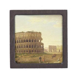 El Colosseum, 1776 (aceite en lona) Cajas De Regalo De Calidad
