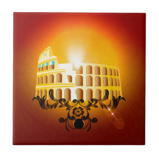 El Colosseum Azulejo Ceramica