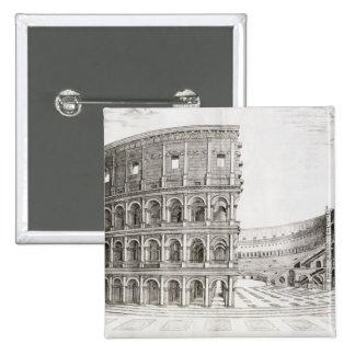 El Colosseum, construido en el ANUNCIO 80 (grabado Pin Cuadrado