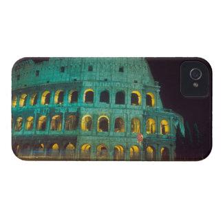 El Colosseum en Roma, Italia con las rayas pálidas Case-Mate iPhone 4 Cobertura