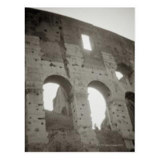 El colosseum en Roma, Italia Tarjeta Postal