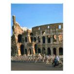 El Colosseum en Roma Membrete
