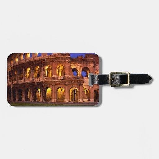 El Colosseum Etiquetas Para Maletas
