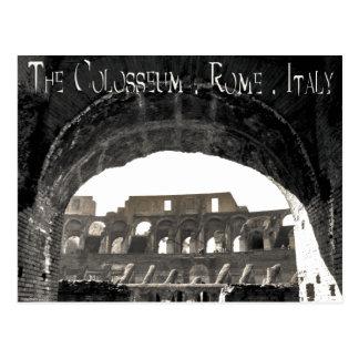 El Colosseum - la Roma Italia Tarjetas Postales