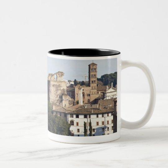 él Colosseum o coliseo romano, originalmente Taza De Café De Dos Colores