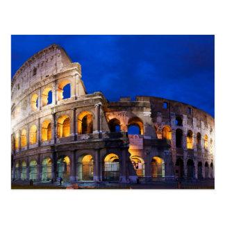 El Colosseum o el coliseo en Roma Tarjetas Postales