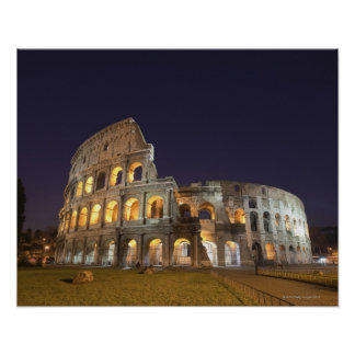 El Colosseum o el coliseo romano originalmente Impresiones