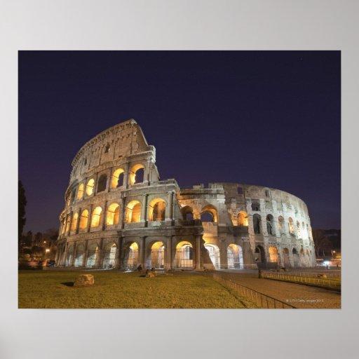 El Colosseum o el coliseo romano, originalmente Impresiones