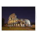 El Colosseum o el coliseo romano, originalmente Tarjetas